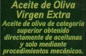 Aceite de oliva virgen extra - Ingredients - es