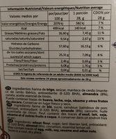 Polvoron Tradicional Estepena - Nutrition facts