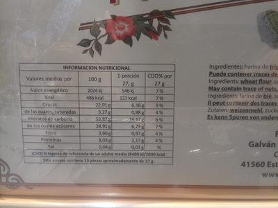 Polvorón de pistacho - 5
