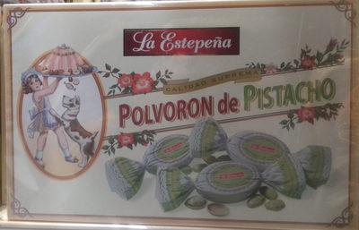 Polvorón de pistacho - Producto