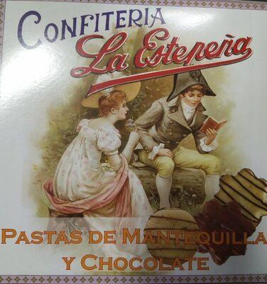 Pastas de mantequilla y chocolate - Producto - es