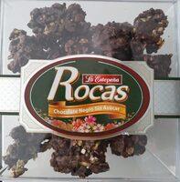Rocas chocolate negro sin azucar - Producto - es