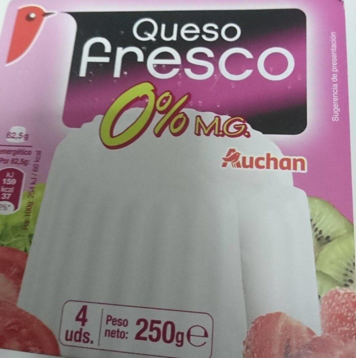Queso fresco 0% - Product - es