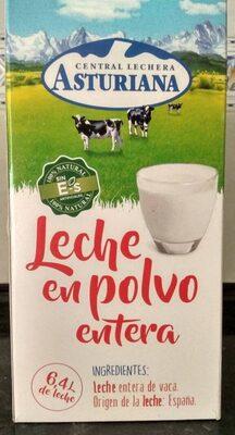 Central Lechera Asturiana Leche En Polvo Entera 26% M. G Caja