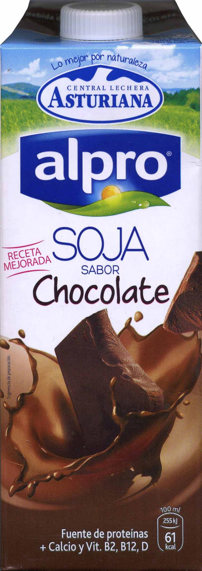 Batido de soja sabor chocolate - Producto - es