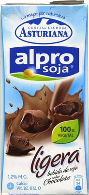 Alpro soja chocolate ligera - Producto - es