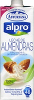 Leche de almendras tostadas vegetal baja grasas - Produit