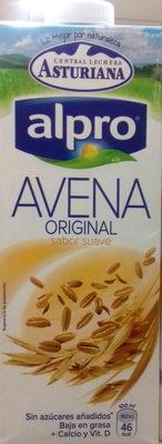 Bebida de avena Original - Producto