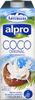 Bebida de coco sin azúcares añadidos bajo calorías - Produit
