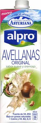 Bebida de avellana baja grasas con calcio y vitamina b,d y e - Produit - es