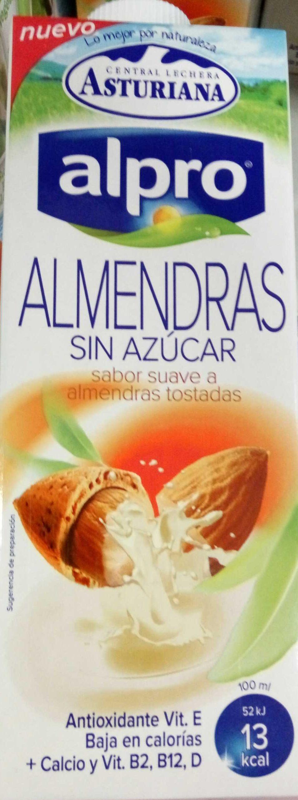 Bebida de almendras sin azúcar con antioxidante - Producto