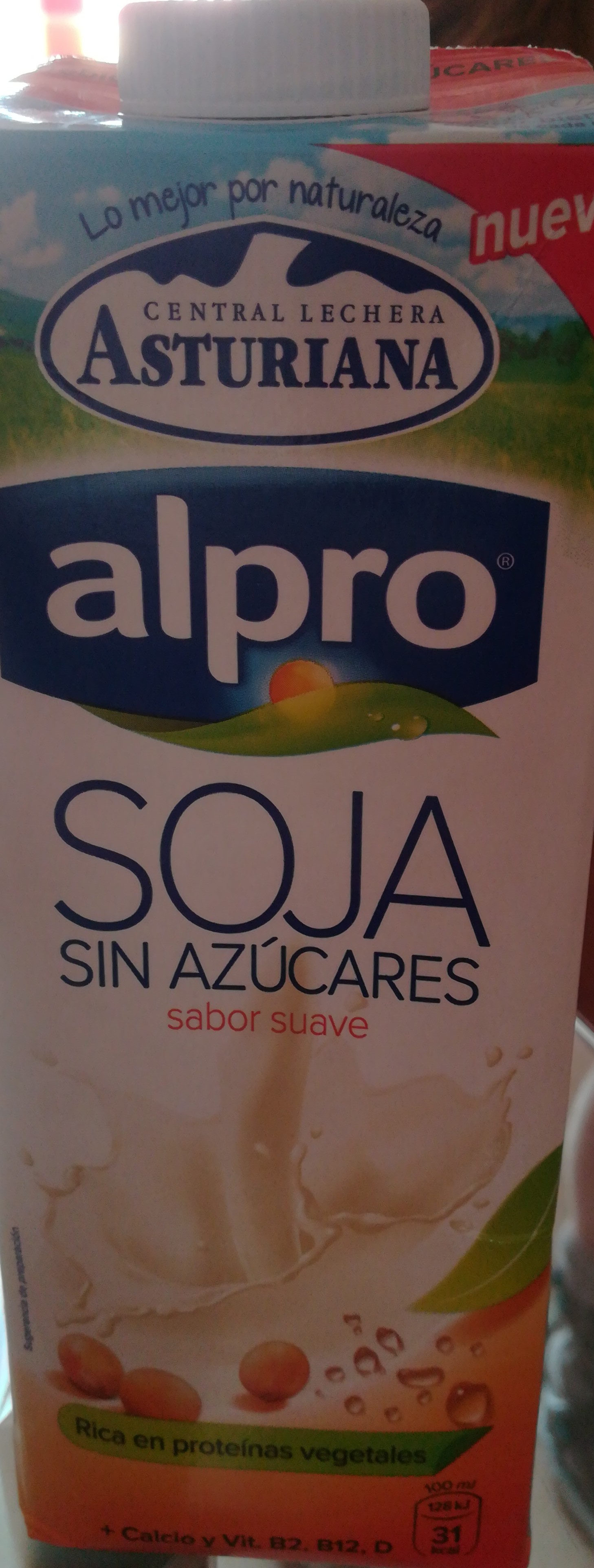 Soja sin azúcar - Producte