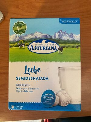 Capsulas leche semidesnatada