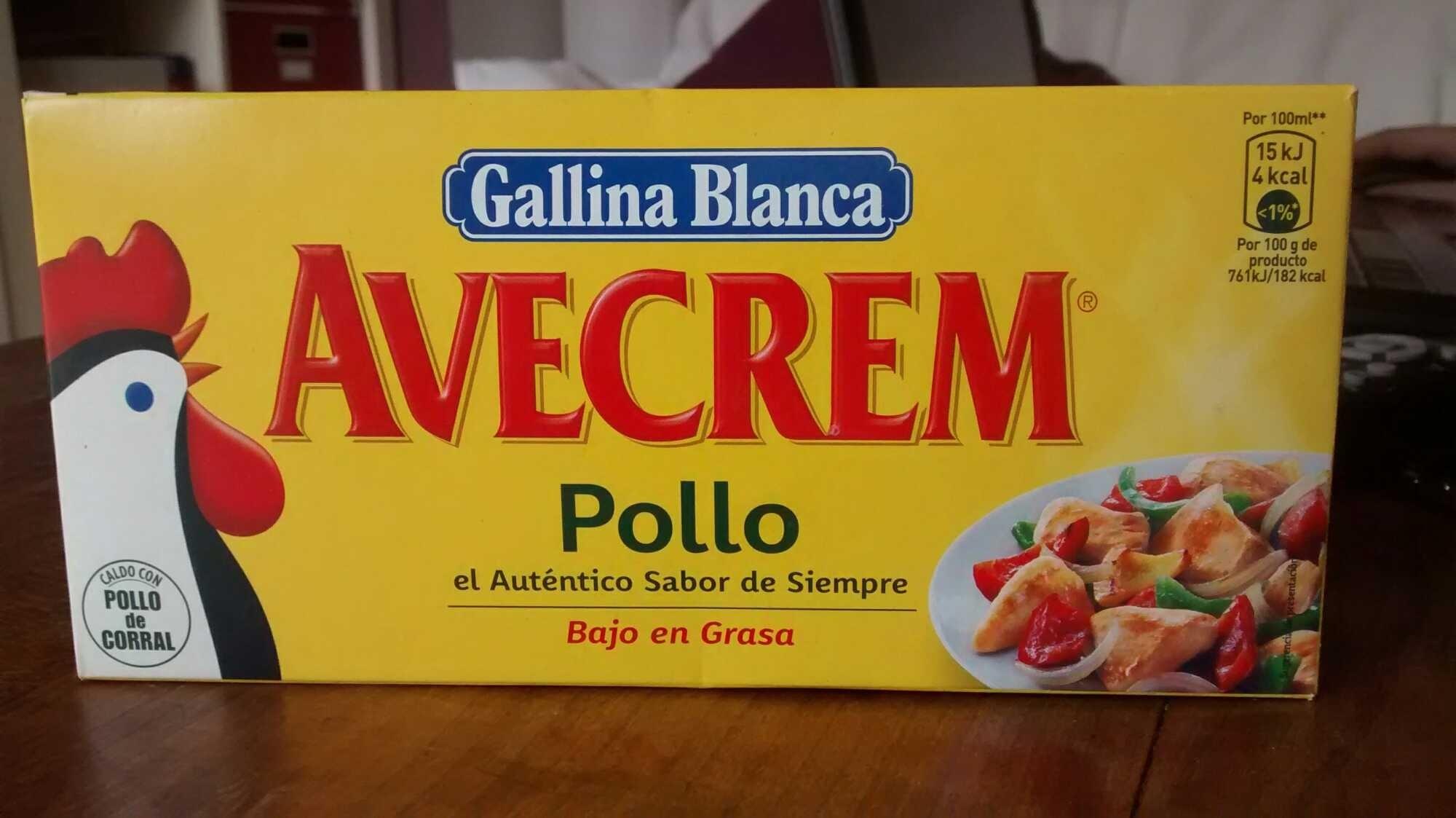 AveCrem pollo - Producte