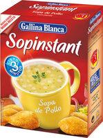 Sopinstant sopa de pollo con pasta - Producto - es