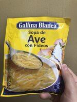 Sopa De Ave Con Fideos - Producto - es