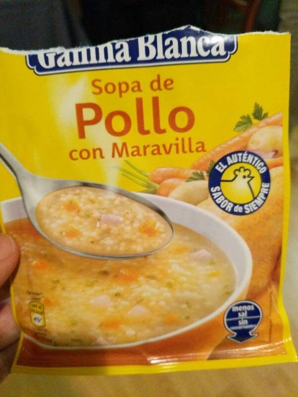 Sopa G. blanca Maravelles - Product