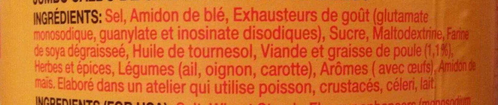 Chicken Stock Powder - Ingrediënten - fr