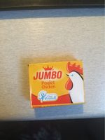 Jumbo Poulet (chicken) Halal Cubes 480G - Product - fr