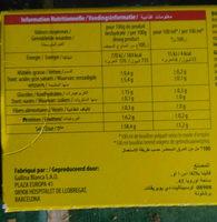 Bouillon Mouton - Nutrition facts