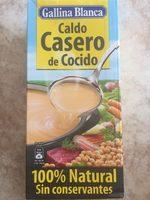 Caldo de cocido casero 100% natural envase 1 l - Producto