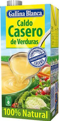 Caldo casero de verduras - Produit - es