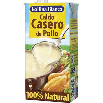 Caldo de pollo casero 100% natural envase 1 l - 13