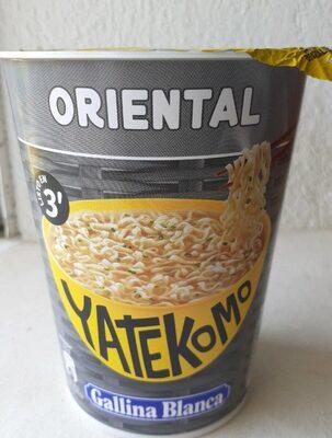 Fideos Orientales Yatekomo Gallina Blanca - Producto - es