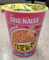 Yatekomo fideos orientales instantáneos sabor gamba listos en 3 minutos vaso 60 g - Producto