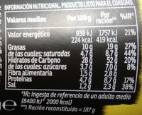 Yakisoba pollo - Nutrition facts - es