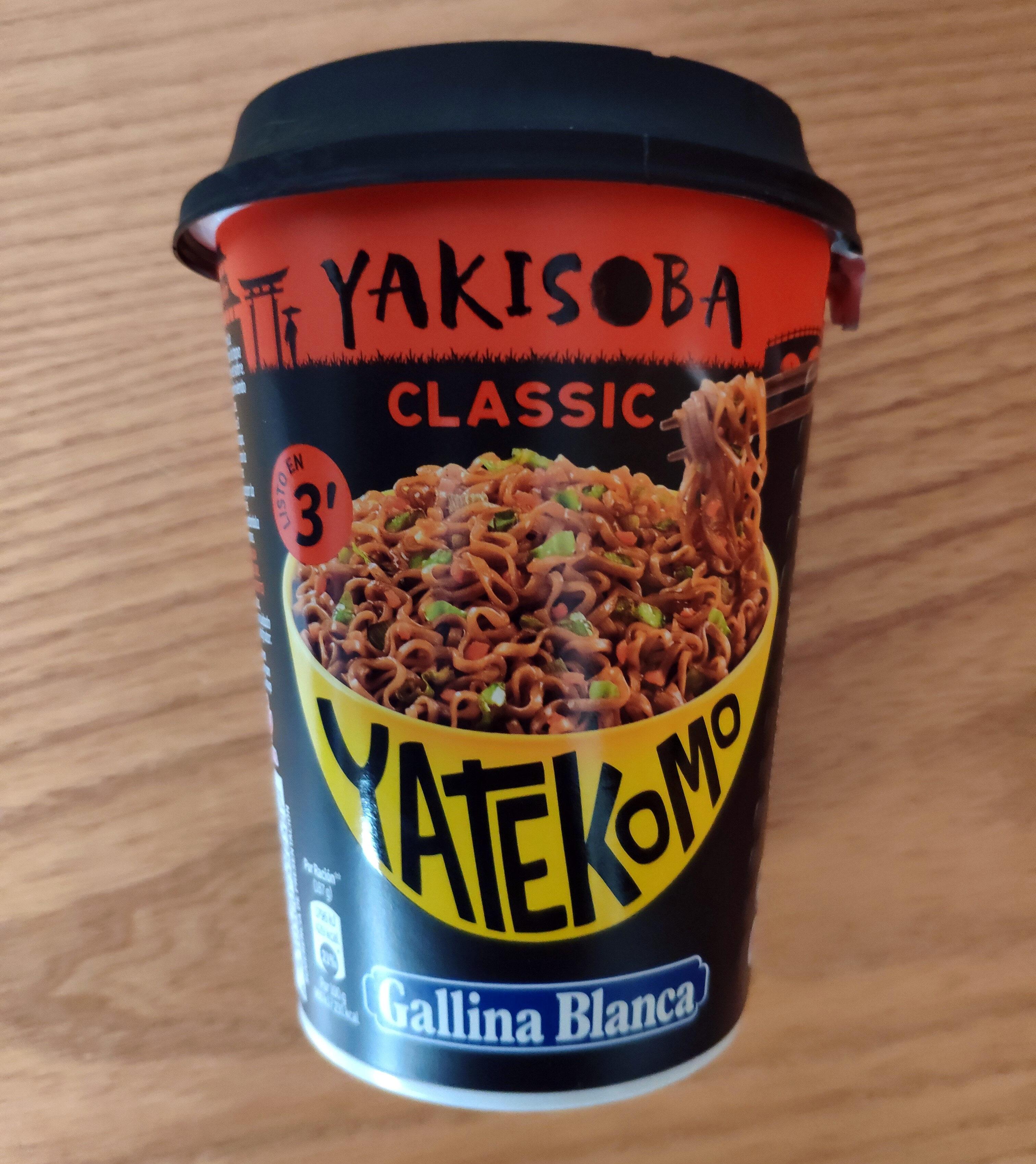Yatekomo Yakisoba Classic - Product - es