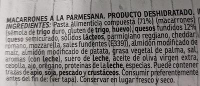Yatekomo Macarroni & Cheese - Ingredientes