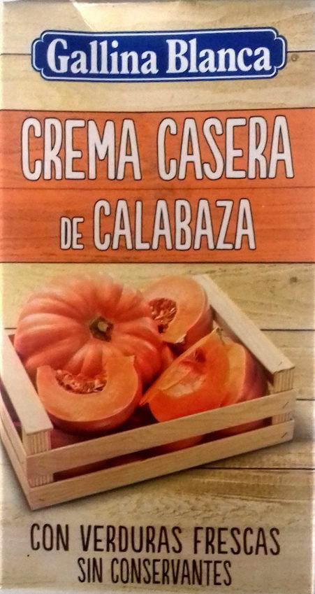 Crema Calabaza Gallina Blanca - Producto - es