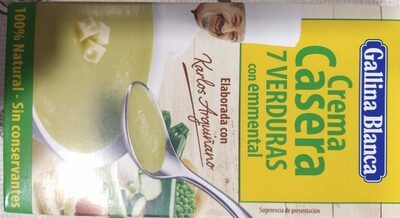Crema casera 7 verduras - Producte - es