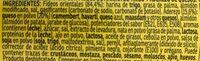Yatekomo fideos orientales instantáneos 4 quesos vaso 80 g - Ingrédients - es