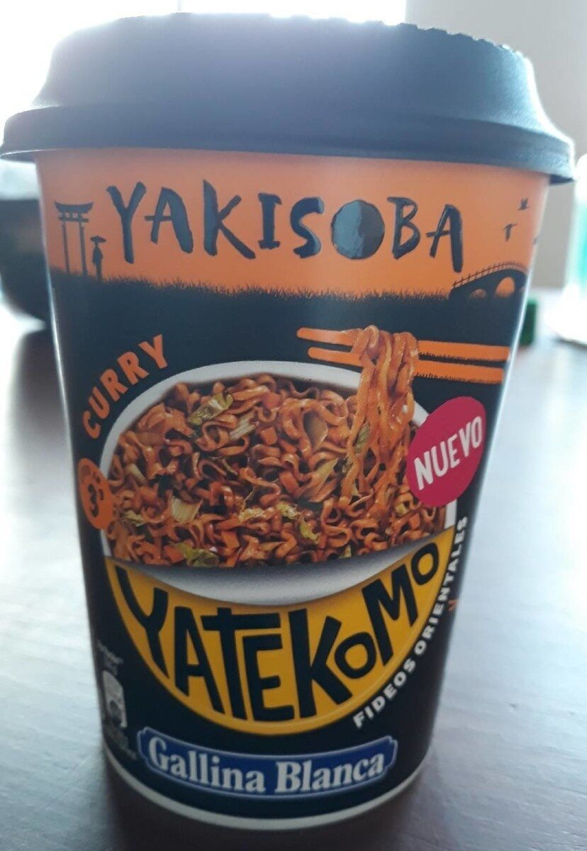 Yakisoba fideos orientales sabor curry vaso 93 ml - Product - es