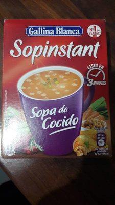 sopa de cocido - Producte