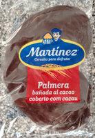 Palmera bañada al cacao - Producto