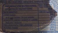 Surtido dulces Martínez - Información nutricional