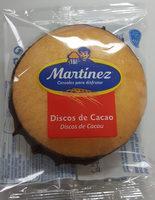 Discos de cacao - Produit - es