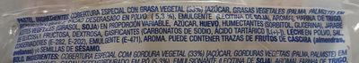 Discos de cacao - Ingrédients - es