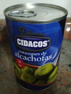 Corazones de alcachofas - Producto - es