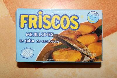 Mejillones en salsa de escabeche - Producto - es
