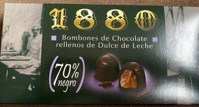 Bombones de chocolate rellenos de dulce de leche - Produit - es