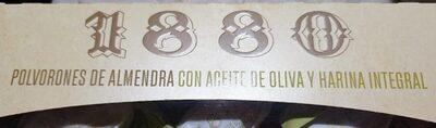 Polvorones de almendra con aceite de oliva y harina integral - Produit - es