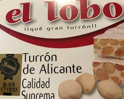 Turrón Alicante - Produit - fr
