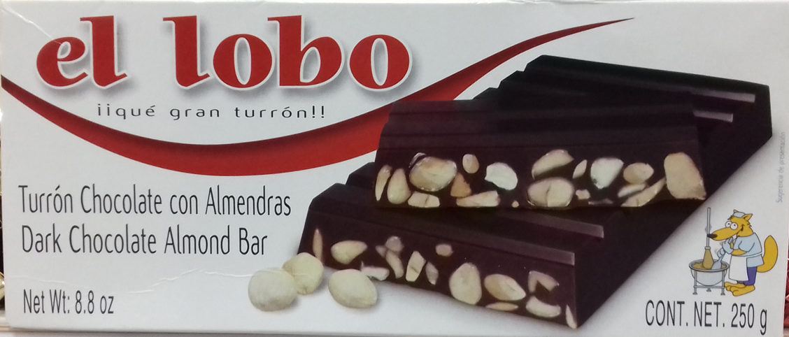 Turrón Chocolate con Almendras - Product