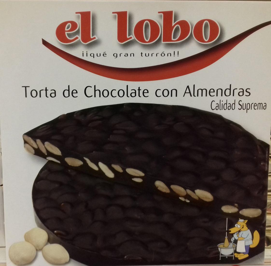 Torta de Chocolate con Almendras - El Lobo - 200 g