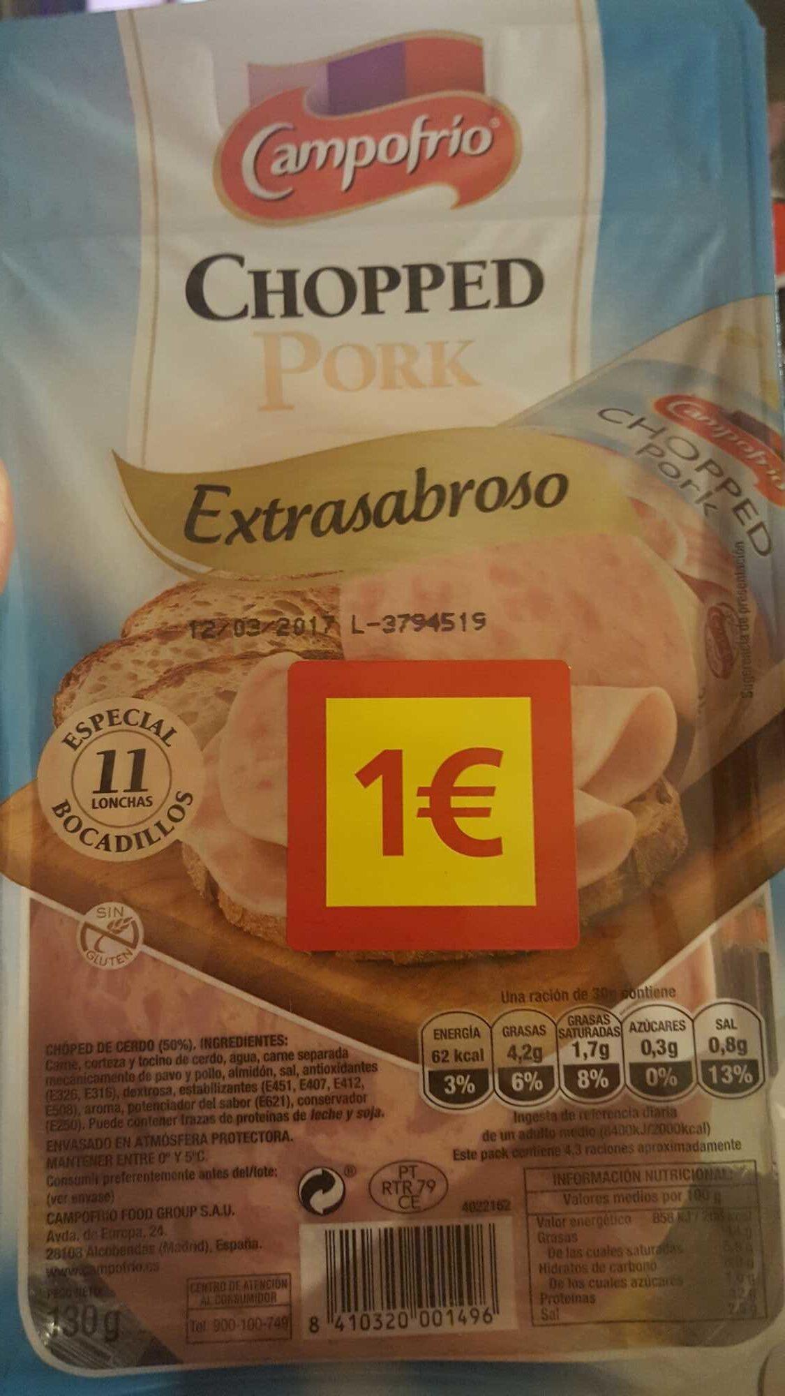 Chopped - Producte - es