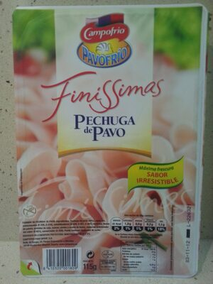 Finíssimas pechuga de pavo - Producte - fr